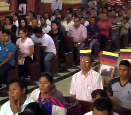 Unidos en oración por Venezuela