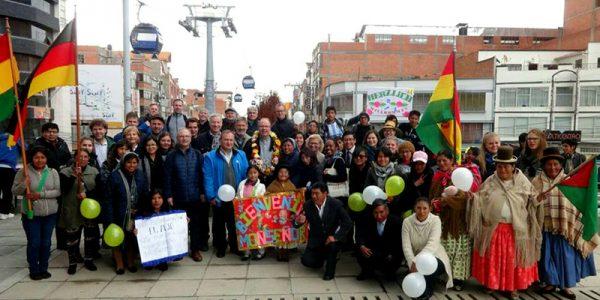 Coyuntura: Encuentro fraterno entre las Iglesias de Bolivia y Alemania